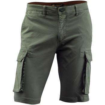 Odjeća Muškarci  Bermude i kratke hlače Lumberjack CM80747 002 602 Zelena