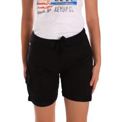 Odjeća Žene  Bermude i kratke hlače Key Up 5G75F 0001 Crno