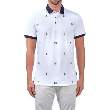 Odjeća Muškarci  Polo majice kratkih rukava Navigare NV82120 Bijela