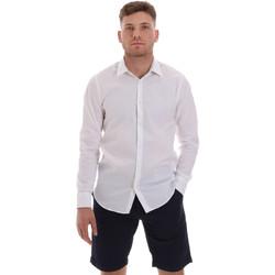 Odjeća Muškarci  Košulje dugih rukava Sseinse CE506SS Bijela
