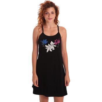 Odjeća Žene  Kratke haljine Key Up 5G30L 0001 Crno
