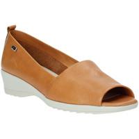 Obuća Žene  Balerinke i Mary Jane cipele Valleverde 41141 Smeđa