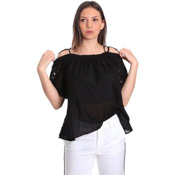 Odjeća Žene  Topovi i bluze Gaudi 811FD45011 Crno