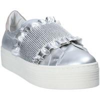 Obuća Žene  Slip-on cipele Mally 6174 Siva