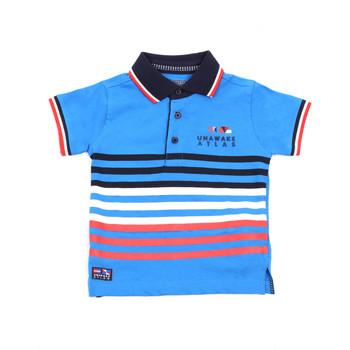 Odjeća Djeca Polo majice kratkih rukava Losan 015-1037AL Plava