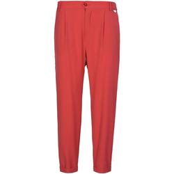 Odjeća Žene  Chino hlačei hlače mrkva kroja Café Noir JP228 Crvena