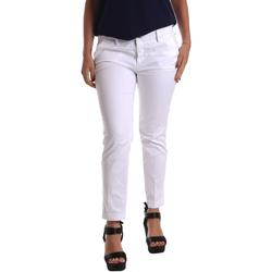 Odjeća Žene  Chino hlačei hlače mrkva kroja Café Noir JP236 Bijela