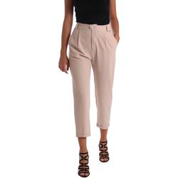 Odjeća Žene  Chino hlačei hlače mrkva kroja Café Noir JP228 Bež