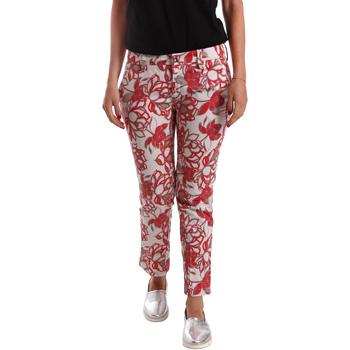 Odjeća Žene  Chino hlačei hlače mrkva kroja Café Noir JP242 Crvena
