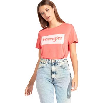 Odjeća Žene  Majice kratkih rukava Wrangler W7016D Crvena