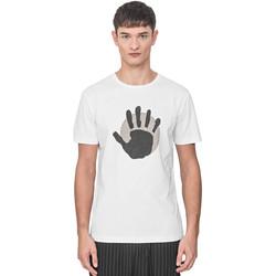 Odjeća Muškarci  Majice kratkih rukava Antony Morato MMKS01765 FA100144 Bijela