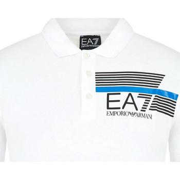 Odjeća Muškarci  Polo majice kratkih rukava Emporio Armani EA7 3HPF17 PJ02Z Bijela