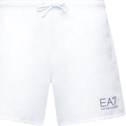 Odjeća Muškarci  Kupaći kostimi / Kupaće gaće Emporio Armani EA7 902000 CC721 Bijela