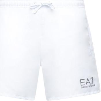 Odjeća Muškarci  Kupaći kostimi / Kupaće gaće Ea7 Emporio Armani 902000 CC721 Bijela