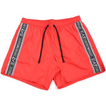 Odjeća Muškarci  Kupaći kostimi / Kupaće gaće Emporio Armani EA7 902000 0P734 Crvena