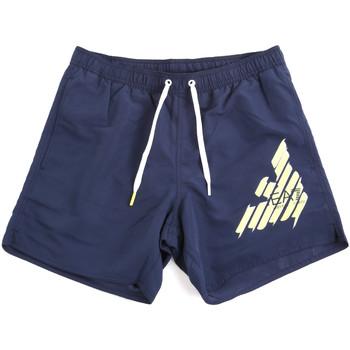 Odjeća Muškarci  Kupaći kostimi / Kupaće gaće Emporio Armani EA7 902000 0P724 Plava