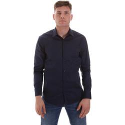 Odjeća Muškarci  Košulje dugih rukava Sseinse CE506SS Plava