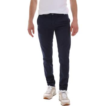 Odjeća Muškarci  Chino hlačei hlače mrkva kroja Sseinse PSE555SS Plava
