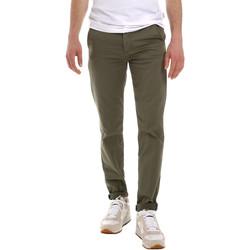 Odjeća Muškarci  Chino hlačei hlače mrkva kroja Sseinse PSE555SS Zelena