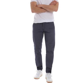 Odjeća Muškarci  Chino hlačei hlače mrkva kroja Sseinse PSE569SS Plava
