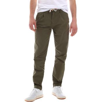 Odjeća Muškarci  Chino hlačei hlače mrkva kroja Sseinse PSE612SS Zelena