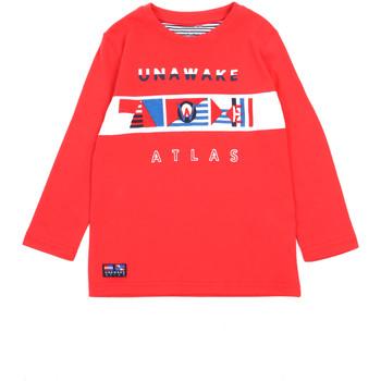 Odjeća Djevojčica Majice dugih rukava Losan 015-1002AL Crvena