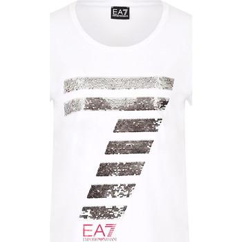 Odjeća Žene  Majice kratkih rukava Ea7 Emporio Armani 3HTT41 TJ12Z Bijela