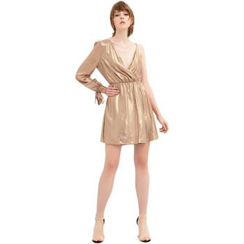 Odjeća Žene  Kratke haljine Fracomina FR20SP453 Zlato