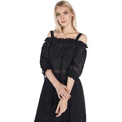 Odjeća Žene  Topovi i bluze Gaudi 811FD45010 Crno
