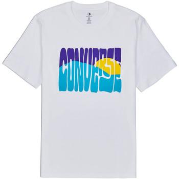Odjeća Muškarci  Majice kratkih rukava Converse 10018864-A01 Bijela