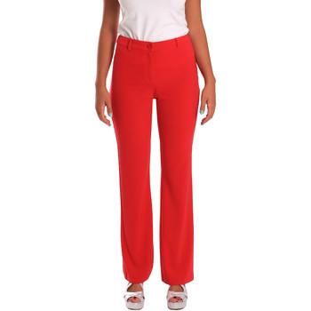 Odjeća Žene  Chino hlačei hlače mrkva kroja Gaudi 811FD25013 Crvena