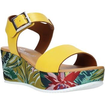 Obuća Žene  Sandale i polusandale Grace Shoes 01 Žuta boja