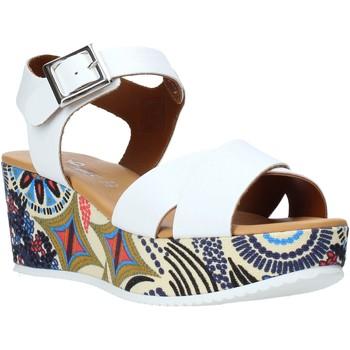 Obuća Žene  Sandale i polusandale Grace Shoes 12 Bijela