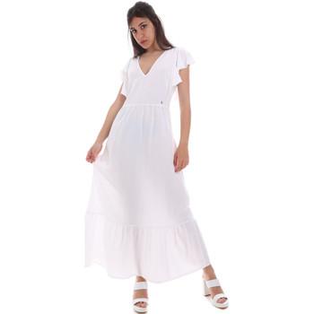 Odjeća Žene  Duge haljine Gaudi 011BD15039 Bijela