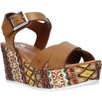Obuća Žene  Sandale i polusandale Grace Shoes 13 Smeđa