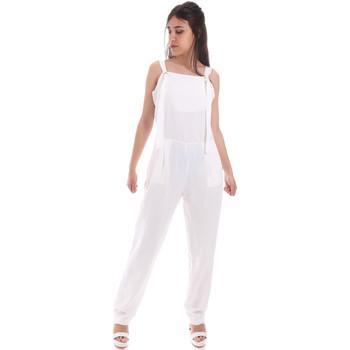 Odjeća Žene  Kombinezoni i tregerice Gaudi 011BD25049 Bijela