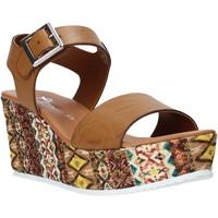 Obuća Žene  Sandale i polusandale Grace Shoes 06 Smeđa