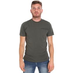 Odjeća Muškarci  Majice kratkih rukava Les Copains 9U9010 Zelena