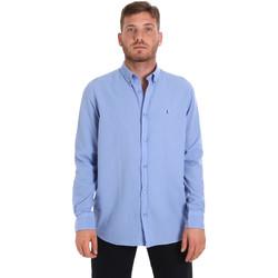 Odjeća Muškarci  Košulje dugih rukava Les Copains 9U2371 Plava