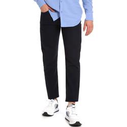 Odjeća Muškarci  Chino hlačei hlače mrkva kroja Les Copains 9U3021 Plava