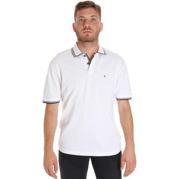 Odjeća Muškarci  Polo majice kratkih rukava Les Copains 9U9020 Bijela