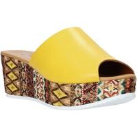 Obuća Žene  Natikače Grace Shoes 10 Žuta boja