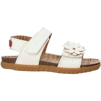 Obuća Djevojčica Sandale i polusandale Grunland SB1564 Bijela