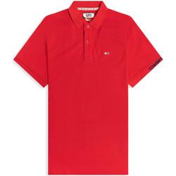 Odjeća Muškarci  Polo majice kratkih rukava Tommy Jeans DM0DM07802 Crvena