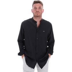 Odjeća Muškarci  Košulje dugih rukava Les Copains 9U2722 Plava