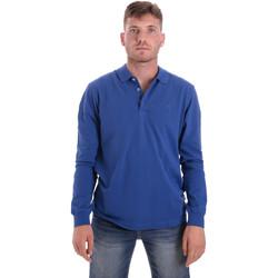 Odjeća Muškarci  Polo majice dugih rukava Navigare NV82109 Plava