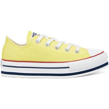 Obuća Djeca Niske tenisice Converse 668283C Žuta boja