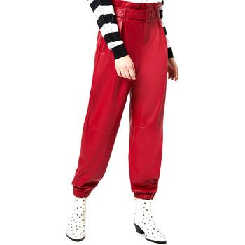 Odjeća Žene  Chino hlačei hlače mrkva kroja Liu Jo WA0276 E0392 Crvena