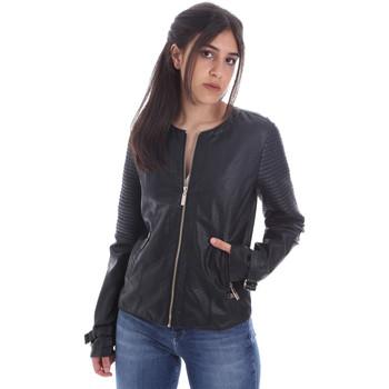 Odjeća Žene  Kožne i sintetičke jakne Gaudi 011BD38001 Crno
