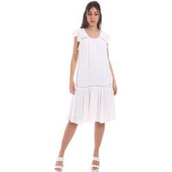 Odjeća Žene  Kratke haljine Gaudi 011BD15015 Bijela